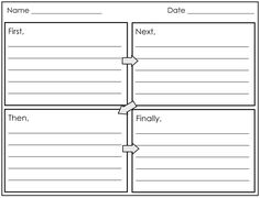 Four square writing model for narrative for my class pinterest four square writing template printable 2nd and 1st grade smarty arties taught by the pronofoot35fo Gallery