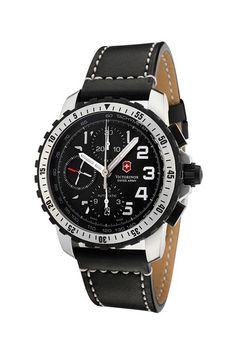 Tried & True: Watches We Love  Swiss Army Men's Alpnach Chronograph Watch  $914.00