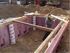Energy-Efficient Solar Greenhouses | Solar Greenhouse Basics: Insulating your foundation