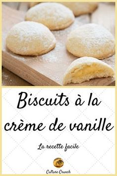 Cookies filled with vanilla cream: the easy recipe - Calista Alegre Southern Recipes, Sweet Recipes, Appetizer Buffet, Desserts With Biscuits, Rhubarb Cake, Biscotti Cookies, Food Garnishes, Sweet Pastries, Dessert Recipes
