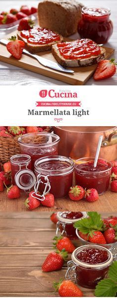 Marmellata light Sweet Light, Cooking Time, Cooking Recipes, Healthy Sauces, Homemade Cleaning Products, Beautiful Fruits, Homemade Cookies, Skinny Recipes, Light Recipes