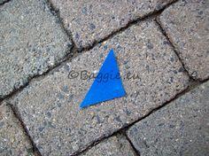 Blauwe marker   Kledingmarkers   www.baggie.eu