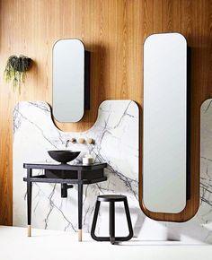 Modern Apartment Bathroom Decor Ideas on a Budget (DIY) Bathroom Trends, Bathroom Interior, Bathroom Designs, Bathroom Ideas, Wc Decoration, Design Industrial, Room Tiles, Stylish Kitchen, Suites
