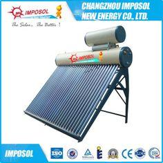 geyser solaire solaire compact de tube électronique de chauffe-eau 300L…