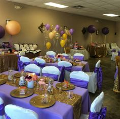 14 Best Purple Gold Party Images 15 Years Baby Shower
