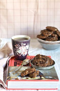 Double chocolate cookies (Jamie Oliver's recipe)