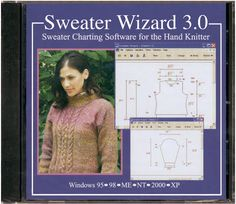 Knitting Software Sweater Wizard Sweater Charting Software (CD-ROM)By Knitting Software