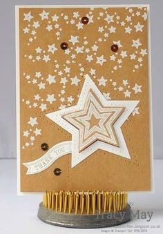 stampin up uk independent demonstrator Tracy May Be the Star card making ideas