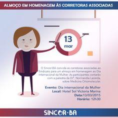 Sincor-BA homenageia corretoras associadas no Dia Internacional da Mulher