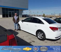 Jordan was very Helpful with my purchase. CrossRoads Chevrolet is a great dealership. They helped me with my needs to get my brand new Chey Cruze. - Danny Copeland  Friday, February 15, 2013