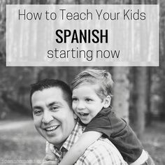 How parents can speak Spanish with their kids and learn as a family. Teach Spanish through songs, games, free printables, online apps, books, and more.