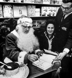 Dalí como Santa Claus