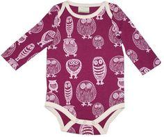 Owls! They just make baby clothes even cuter. @Brooke Baird Baird Baird (Rane) Gilmer