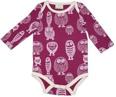 Owls! They just make baby clothes even cuter. @Brooke Baird Baird Baird (Rane) Gilmer