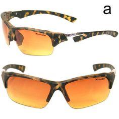 Golfing Sport Driving Orange Lense Sunglasses SA3319 Hot trendy fashion sunglasses - Visit us online at www.trendyparadise.com