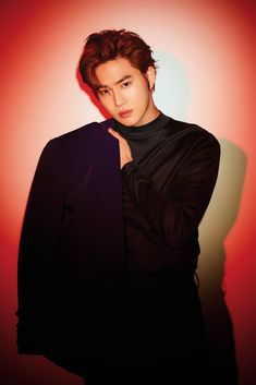"""181207 — Exo to release their Repackage album """"Love Shot"""" on December They started to share photo teaser for their upcoming album with hot pictures of Kai and Sehun in Red 🔥 Checkout their teaser below Baekhyun Chanyeol, Park Chanyeol, Exo Minseok, Kim Jongdae, Exo Smtown, Leeteuk, Kyuhyun, Kris Wu, Luhan And Kris"""