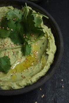 ~ Avocado Hummus ~