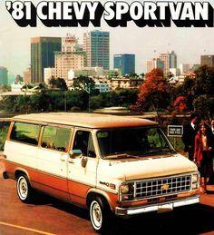 (Advertisement eBay) 1981 CHEVY SPORTVAN BROCHURE-G10-G20-G30-SPORTVAN Chevy Vans, Cargo Van, Motors, Dream Cars, Literature, Accessories, Ebay, Literatura, Chevy Pickup Trucks