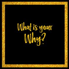 What is your why? Why did you start your business?  Click to read more or pin for later.