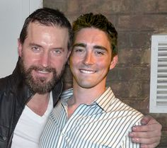 Lee Pace and Richard Armitage