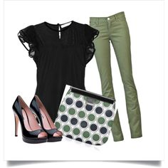 Polka Dots, created by landyp on Polyvore