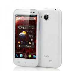 4.5 Inch Quad Core Android 4.2 Phone that features an 8MP Rear Camera, 1GB RAM as well as 4GB Internal Memory is the first mobile phone entry for the ONN brand. Shopswagstore.com