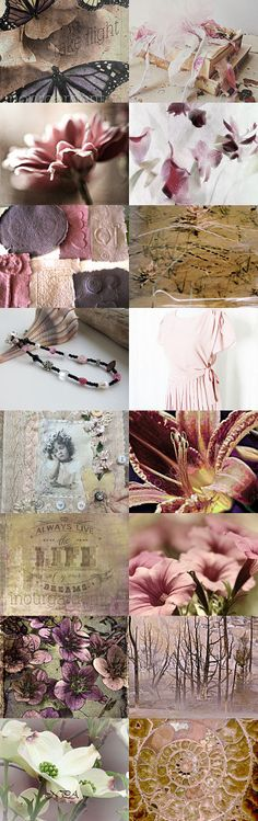 Shades of Pink by Linda Voth on Etsy--Pinned with TreasuryPin.com