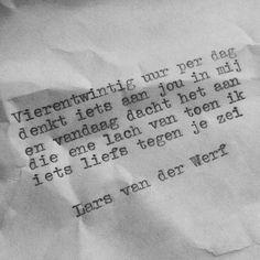 Lars van der Werf versje