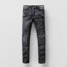Cheap BALMAIN Jeans for MEN #209329, $73 USD- [GT209329] - Replica BALMAIN Jeans for MEN