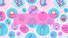 Banner para canal You Tube Banner Do Youtube, Youtube Kawaii, Youtube Gratis, Youtube Banner Backgrounds, Pinterest Instagram, Youtube Logo, Kawaii Stickers, Banner Template, Kawaii Girl