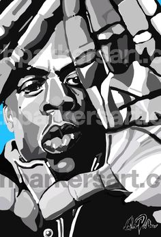 Jay-z by Nathan Parker