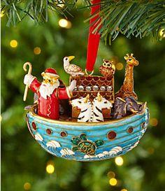 "Dillard´s Trimming Cloisonne 4"" Noah´s Ark Ornament | Dillard's Mobile"