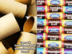 Candyland Collection - Printable Candyland Candy Props - INSTANT DOWNLOAD