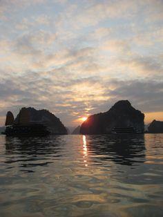 On kaiak, Halong Bay #halongbay