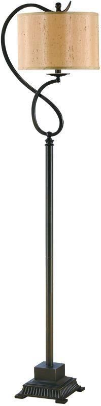 Crestview Collection CVACR435 Echo Floor Lamp 13 X 13 X 8.5
