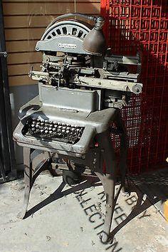 Graphotype Addressograph Multigraph Model 6341 Dog Tag Stamp Machine Military | eBay