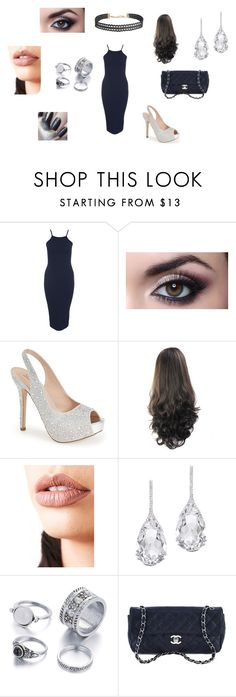"""Diamond at RDMA'S"" by alissaoriginal on Polyvore featuring Club L, Lauren Lorraine, Lime Crime, Plukka, Chanel and Humble Chic"