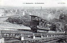 Montmartre - Le Funiculaire around 1900