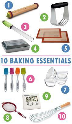 10 Baking Tool Essentials for the Beginner Baker
