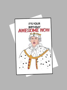Excited to share this item from my shop: King George Hamilton Birthday Card Cute Birthday Cards, It's Your Birthday, 13th Birthday, Birthday Greetings, Bday Cards, Birthday Ideas, Hamilton Gifts, Funny Hamilton, Hamilton Quotes