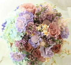 ブーケ お母様へ  : 一会 ウエディングの花