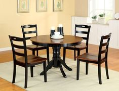 Image Result For Rustic Round Kitchen Table