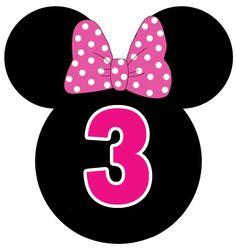 Oie!!!     Vim postar mais uma dica para festa da Minnie. Agora estou trazendo pra vocês etiquetas da Minnie para baixar e imprimir, grátis...