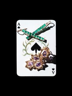 Jackpot - Dazzling jewels for the woman who knows how to play her cards.