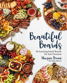 Buy Beautiful Boards: 50 Amazing Snack Boards for Any Occasion by Maegan Brown and Read this Book on Kobo's Free Apps. Discover Kobo's Vast Collection of Ebooks and Audiobooks Today - Over 4 Million Titles! Charcuterie Recipes, Charcuterie And Cheese Board, Cheese Boards, Donut Recipes, Banana Bread Recipes, Cooking Recipes, Bloody Mary, Muffins Double Chocolat, Baked Apple Fritters