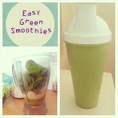 Recipe: Easy Green Smoothies