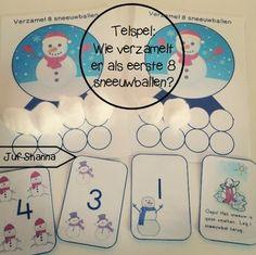 Wie verzamelt de meeste sneeuwballen?? Leuk spelletje als klaar-opdracht of om in het circuit te stoppen!