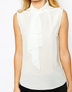 Image 3 ofTed Baker Syna Top With Ruffle Front