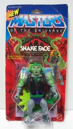 Masters of the Universe: Snake Face