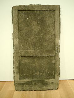 Robert Overby Concrete Screen Door, Art Institute of Chicago